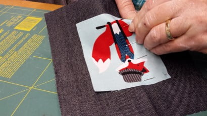 Applique workshop at All Sewn Up.