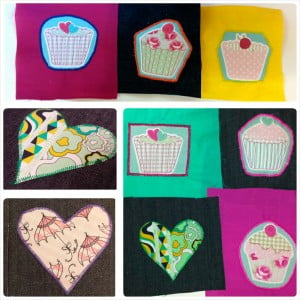 Cupcake Applique Workshop - All Sewn Up