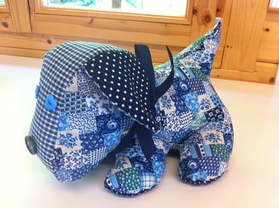 All Sewn Up - Scottie Dog Toy