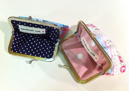Snap Purse Workshop - All Sewn Up