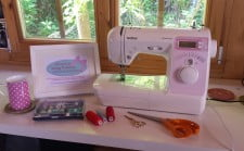 Sewing classes at All Sewn Up - Private Tuition.