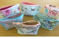 Cosmetic bags made at a Fun Day
