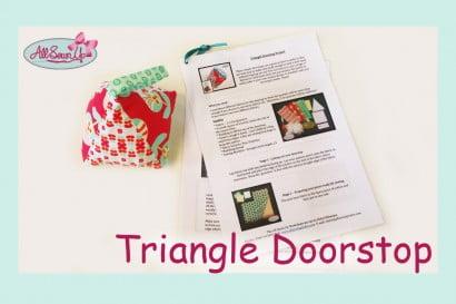 Triangle Doorstop Tutorial