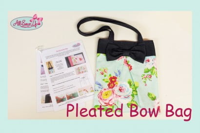 Pleated Bow Bag Tutorial