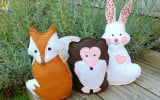 Woodland Felt Friends
