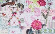 Fabric - 'Belle Rose'