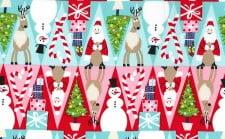 Fabric - 'Holiday Row'