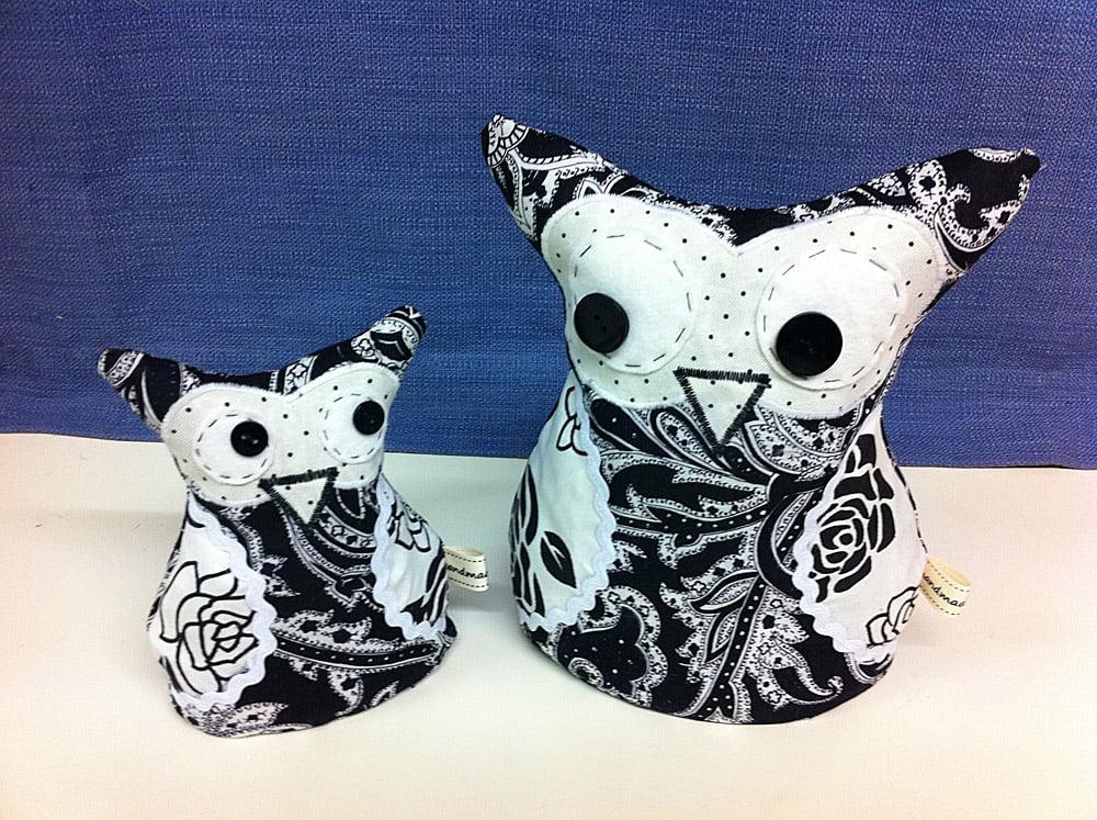 All Sewn Up - Owl Doorstops Workshop
