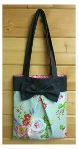 Pleated Bow Bag