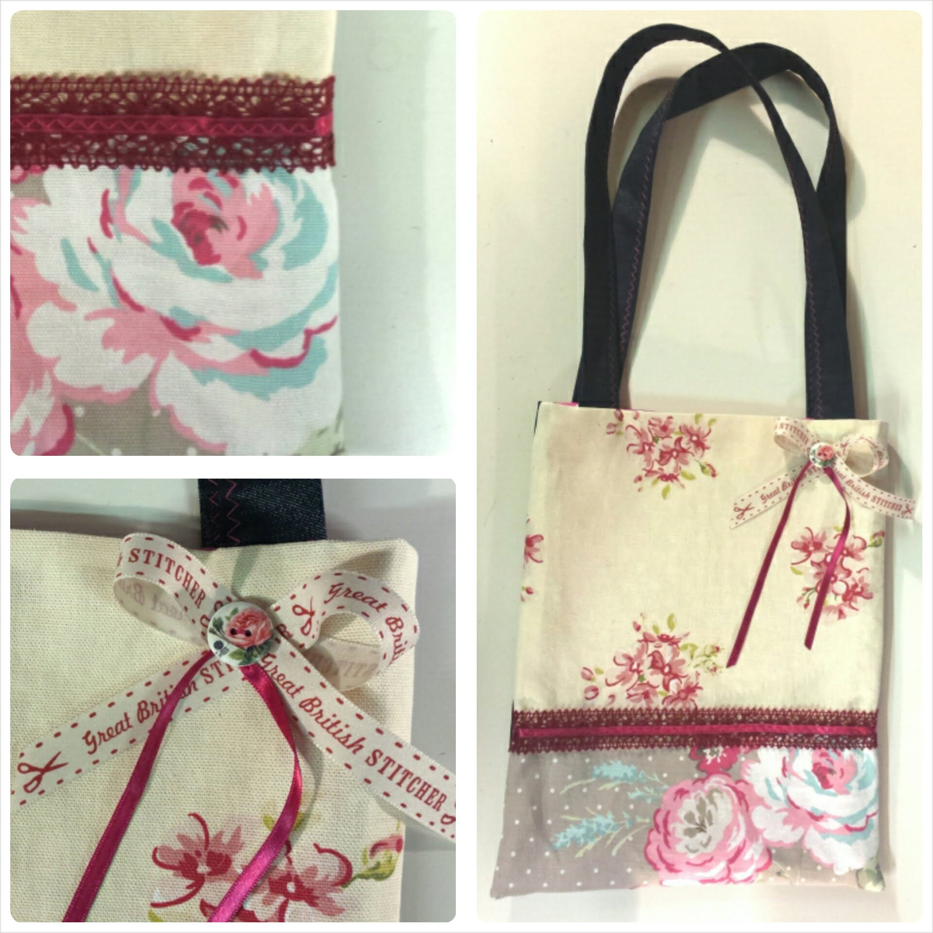 Learn how to make a lined tote bag.