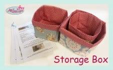 Storage Box Tutorial