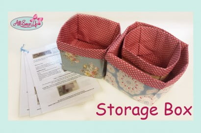 Storage Box Tutorial