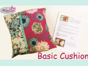 Cushion for Beginners Tutorial