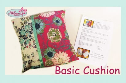 Cushion for Beginners Tutorial
