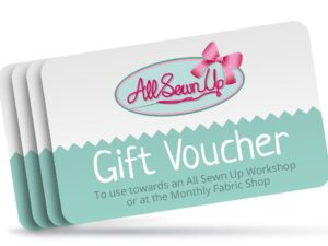 All Sewn Up Gift Voucher