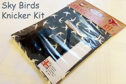 Sky birds knicker kit