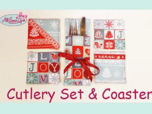 Cutlery Set & Coasters Tutorial