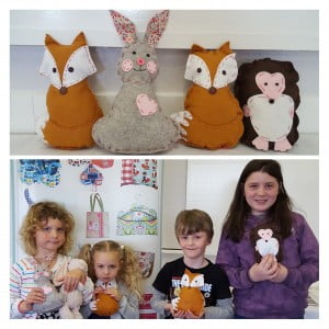 Woodland Felt Friends Workshop