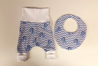 Baby Trousers and Bib