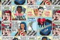 'Comic Quilt' by Michael Miller