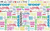 'Must love dogs' by Ginger Oliphant for Studio E