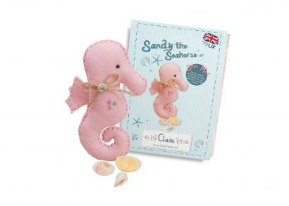 Sandy Seahorse Sewing Kit
