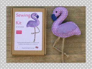 :ilac Flamingo Sewing Kit
