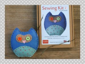 Blue Owl Sewing Kit