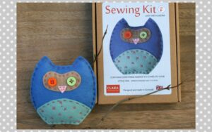 Blue Owl Sewing Kit