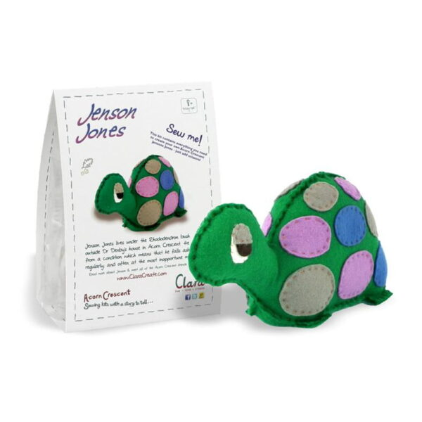 Jenson Jones Tortoise Felt Kit