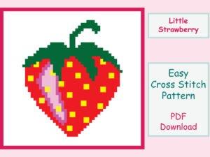 Little Strawberry Cross Stitch