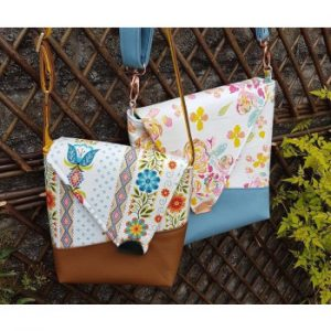 The Squiffy Sling bag sewing pattern