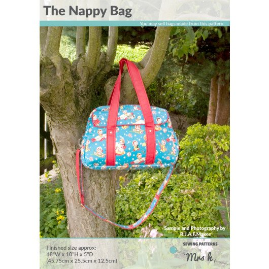 Mrs H Nappy Bag Pattern
