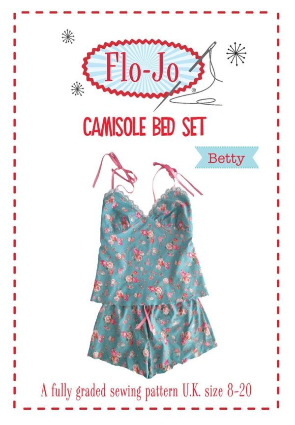 'Betty' Camisole Bed Set