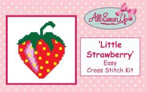 'Little Strawberry' cross stitch kit