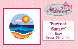 'Perfect Sunset' Cross Stitch Kit