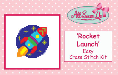 Rocket Launch Cross Stitch