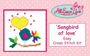 'Songbird of Love' cross stitch kit