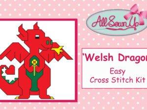 'Welsh Dragon' cross stitch kit