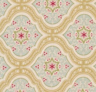 Tilda Aurora Tan Yellow Fabric