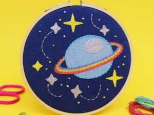'GALAXY' Mini Embroidery Kit