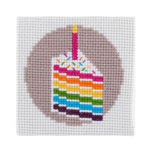 Cake Cross Stitch Kit