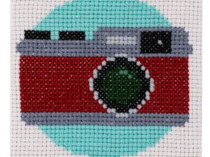Camera Cross Stitch Kit