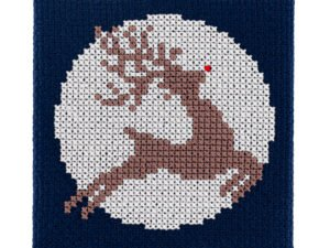 Deer Cross Stitch Kit