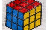 Rubik Cube Cross Stitch Kit