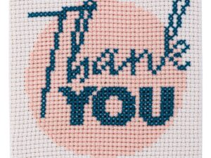 Thank You Cross Stitch