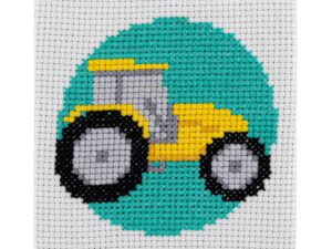 Tractor Cross Stitch Kit