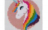 Unicorn Cross Stitch Kit