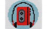 Walkman Cross Stitch Kit