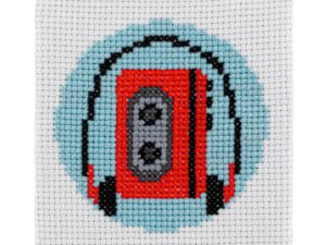 Walkman Cross Stitch Kit